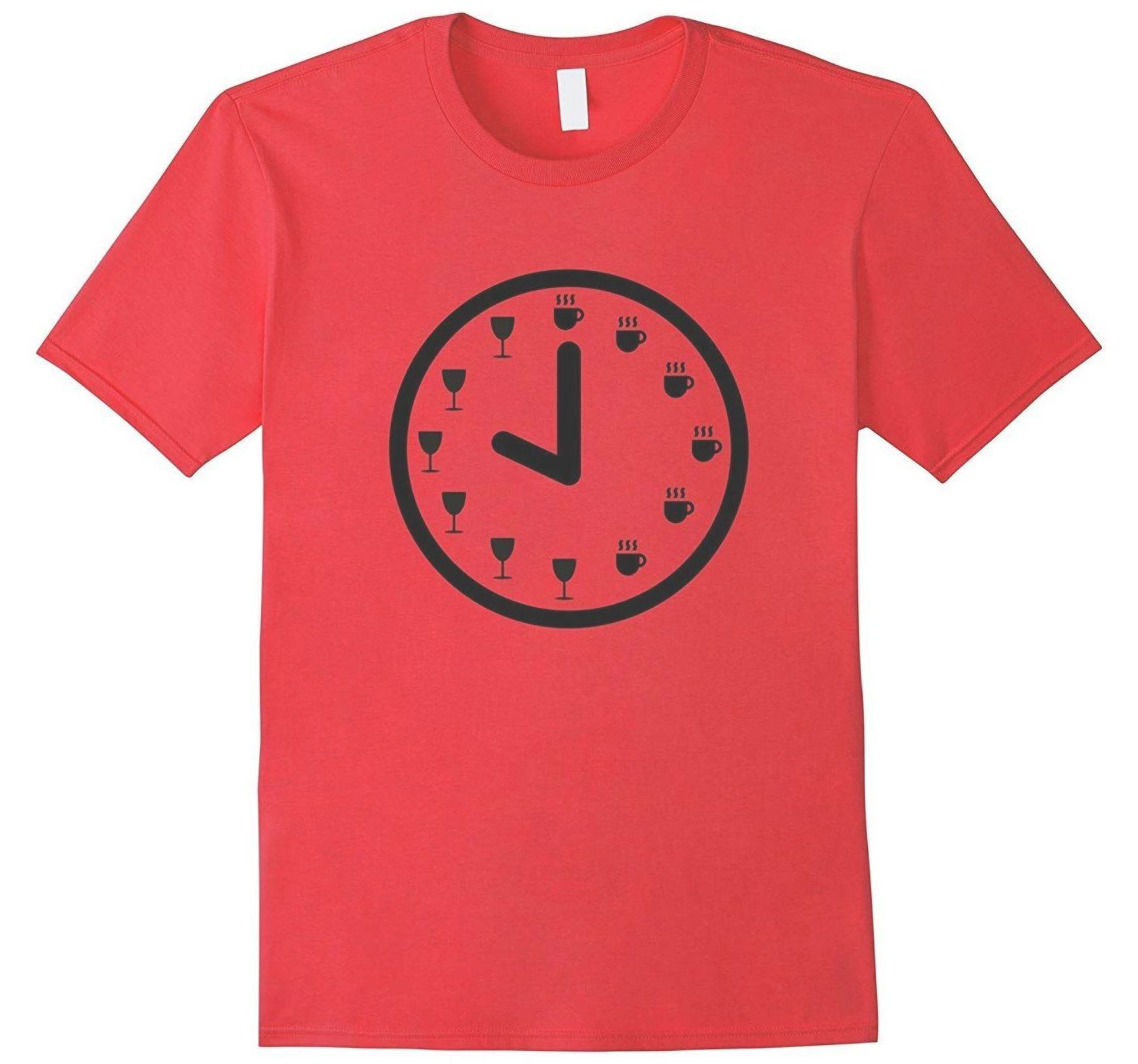 It S Either Coffee Time Or Wine Time Favorite Drink T Shirt