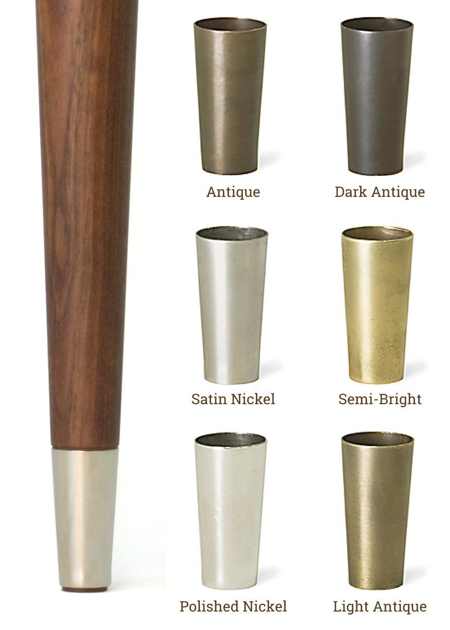Buy the legs named in honor of famed american designer paul mccobb this straight tapering leg is a hallmark of mid century modern furniture and the perfect