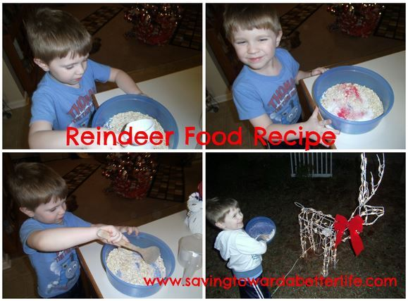 Christmas Fun with the Kids: Reindeer Food Recipe! - Saving Toward A Better Life #reindeerfoodrecipe