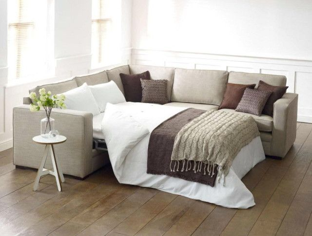l shaped couch with pull out bed
