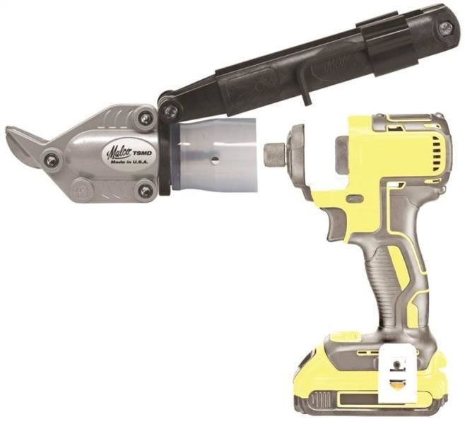 other power tools 632: new malco turboshear tsmd double cut cutter ...