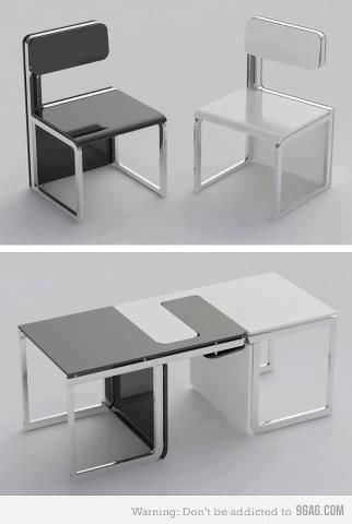 Transforming Furniture Chairs Table Creative Furniture