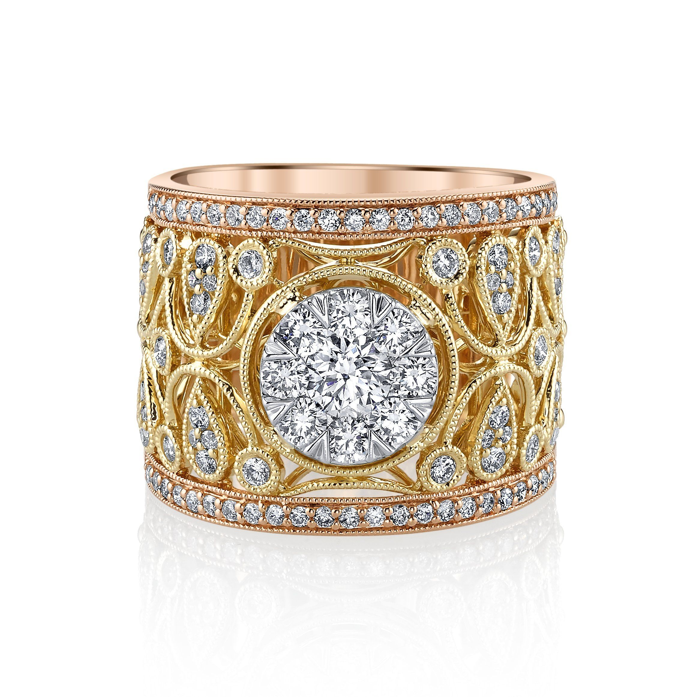 new karl lagerfeld ring diamond at a s first jewellery weddings look article designs rings vogue engagement