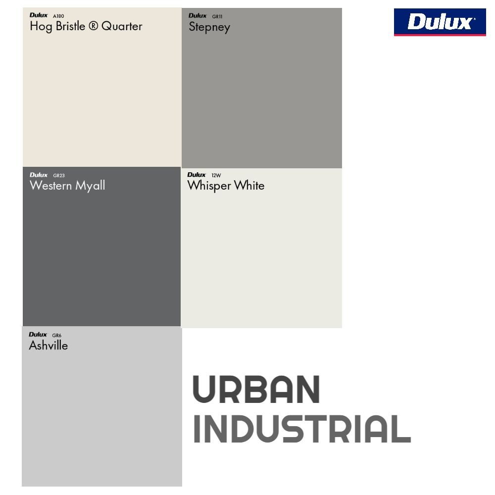 Dulux Urban Colour Palette Mood Board