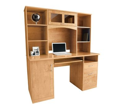 An Option For My Home Office Desk Landon With Hutch