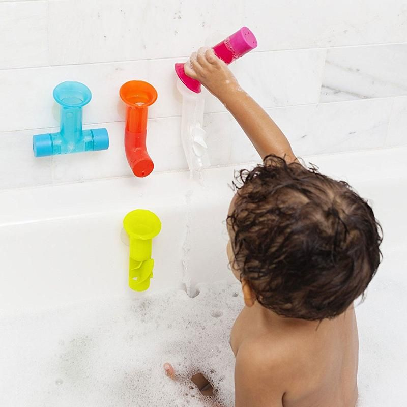 Boon Pipes Building Bath Tub Toy Water Play Set Toddler