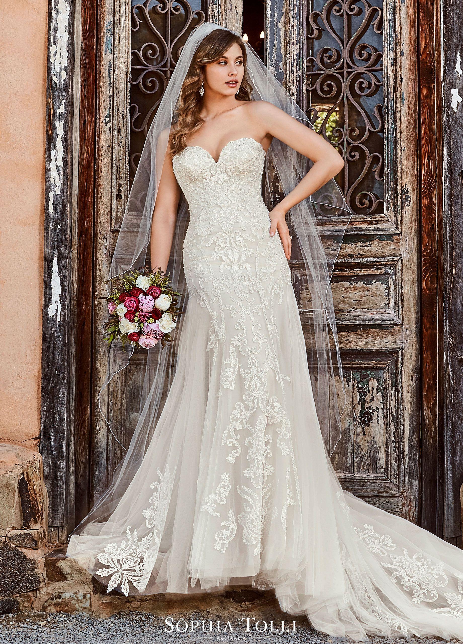 Sophia Tolli Reanna Bridal Dresses Wedding Dresses Romantic Designer Wedding Dresses