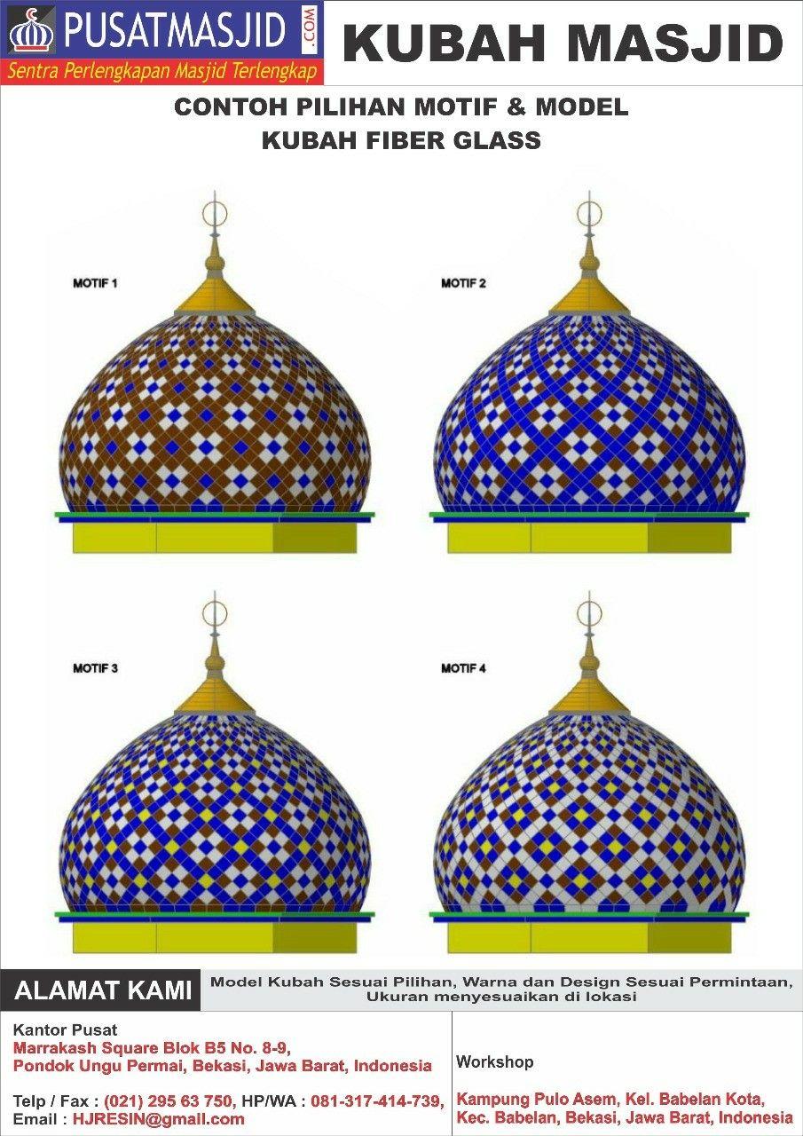 Pilihan Kubah Desain Arsitektur Mesjid