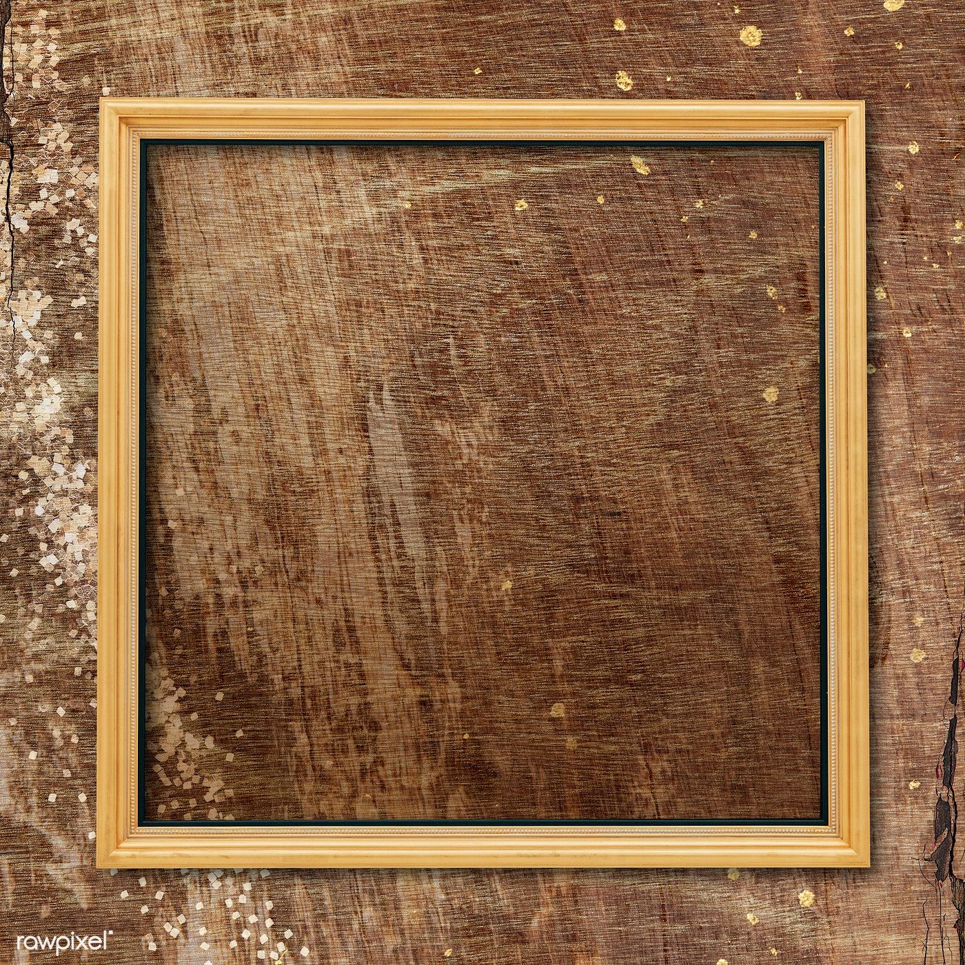 Download Premium Illustration Of Square Frame On Plain Wooden Texture In 2020 Wooden Textures Dark Wood Texture Walnut Wood Texture