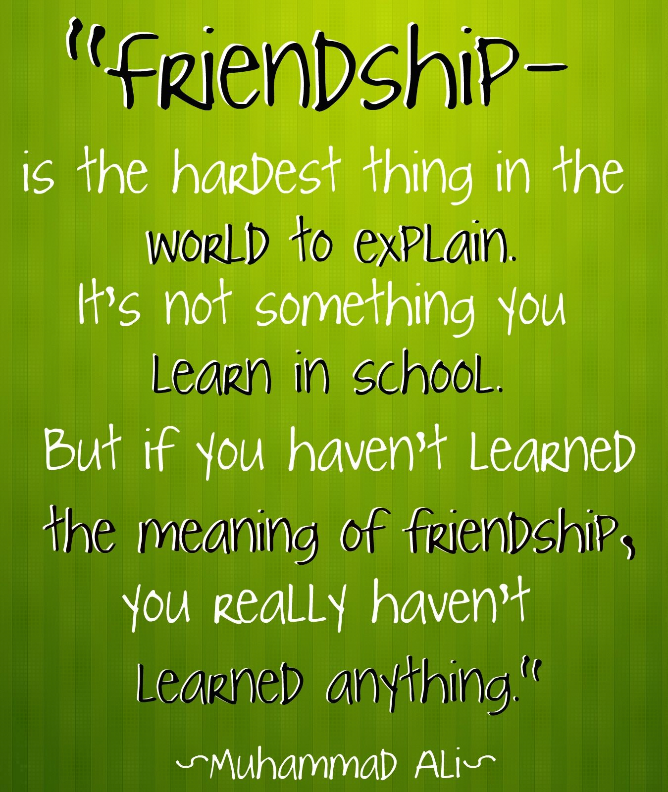 world of friendship essay Also read: short essay on 'a friend in need is a friend indeed' importance of true friends: with great efforts you may succeed in getting a true friend to make him a lifelong companion but it is very difficult to maintain friendship.