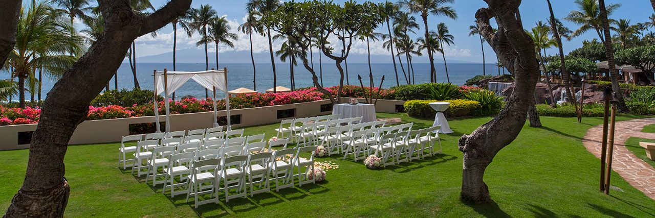 Beautiful maui beach wedding location hyatt regency for Maui wedding locations