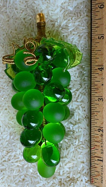 Murano Glass Grape Cluster Large Green Set A Gorgeous Table Buffet Or Bar Area With These Beautiful And Whimsic Green Aesthetic Shades Of Green Green Colors