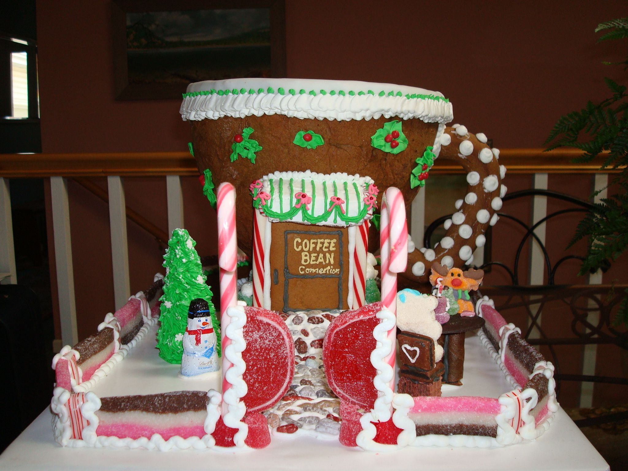 Coffee Bean Connection Christmas Gingerbread House Gingerbread House Designs Christmas Gingerbread