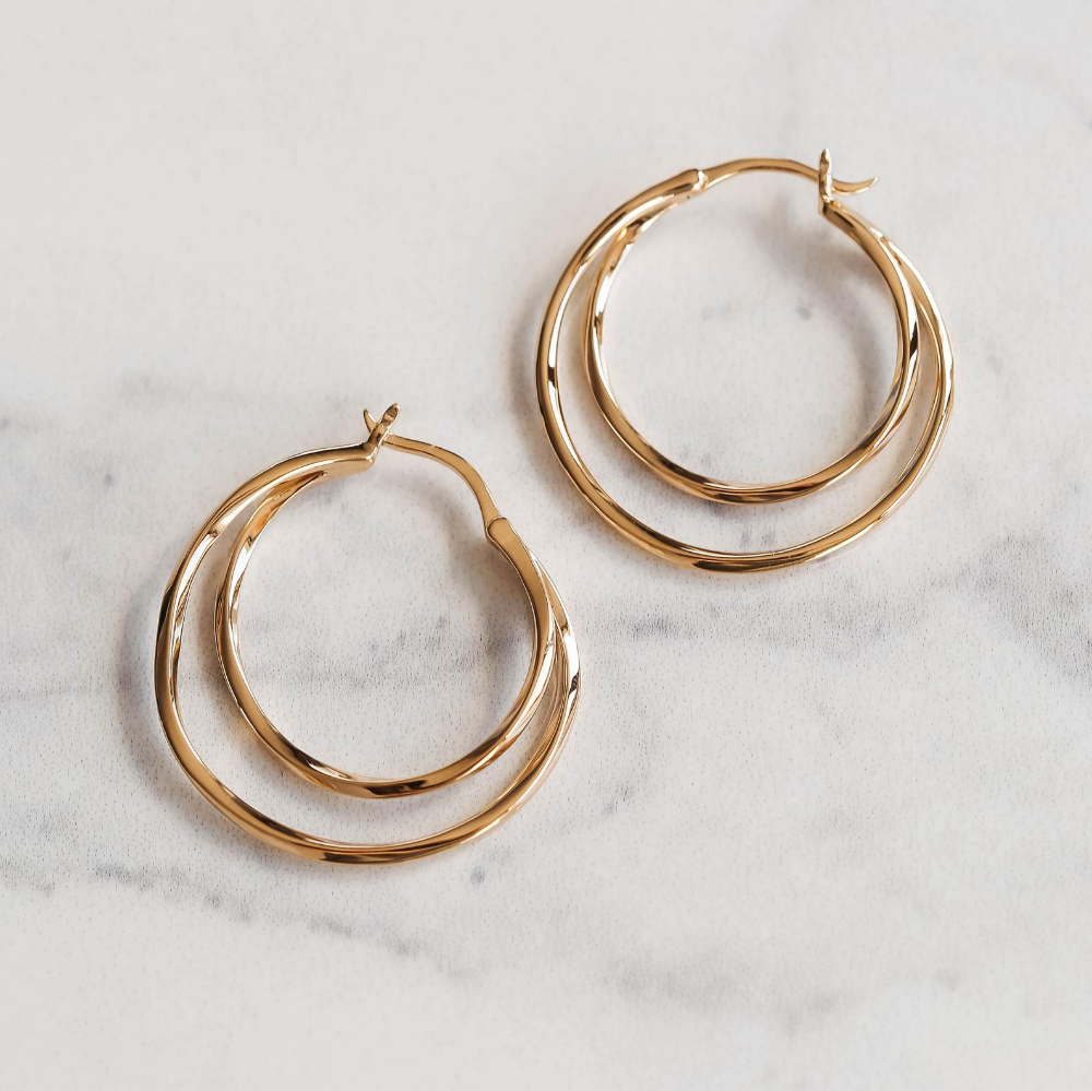30mm Hoop Earrings Big Hoops Gold Hoop Earrings Big Hoops Etsy Hoop Earrings Gold Hoops Gold Hoop Earrings