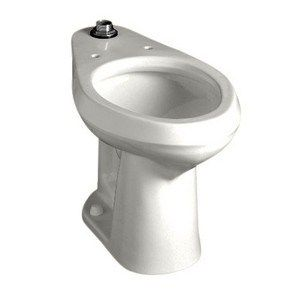American Standard Colorado Right Height Elongated Toilet Bowl In White Madeinamerica Toilet Bowl Toilet Restroom Fixtures