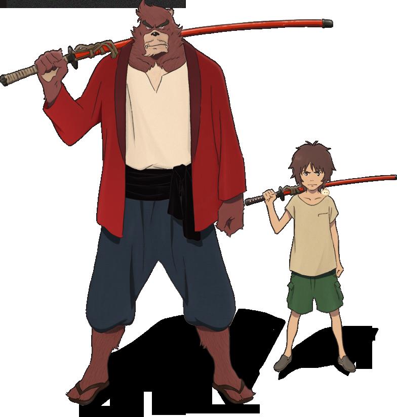 バケモノの子 公式サイト アニメ映画 バケモノの子 キャラクターデザイン