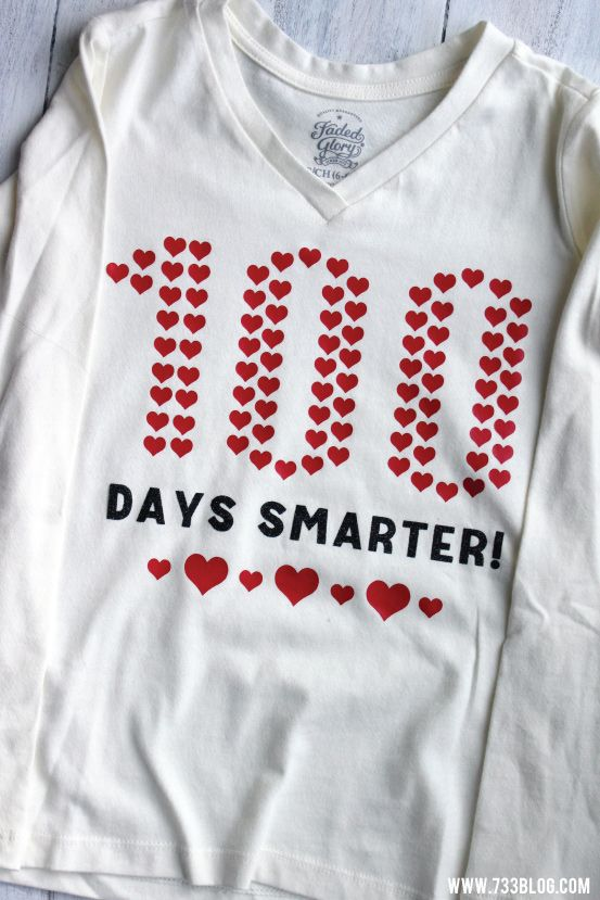 100 Days of School Shirt - Inspiration Made Simple