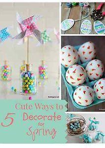 5 Fun Ways to bring Spring Indoors | eBay