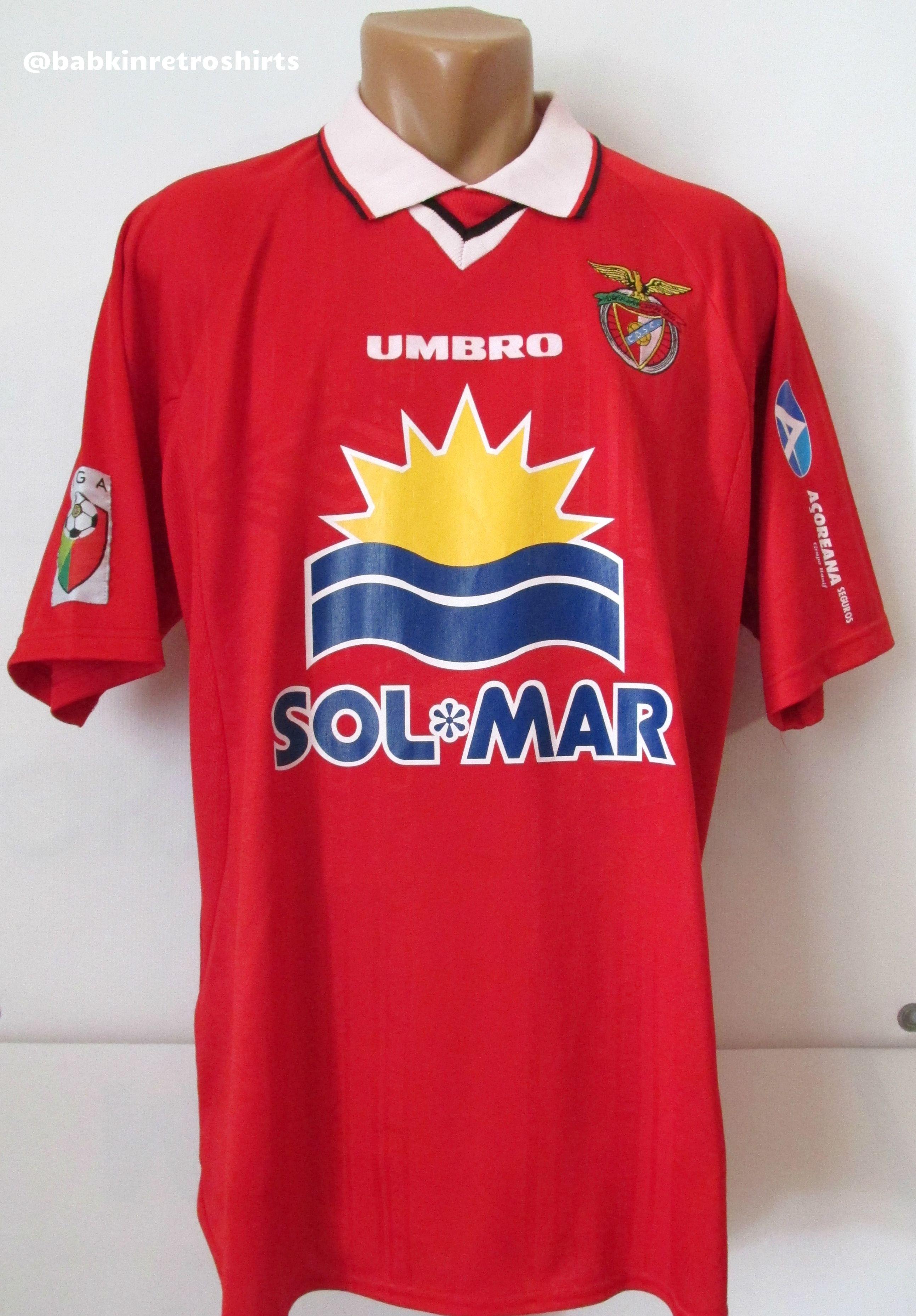 a9b6a7c26 CD Santa Clara 1998 1999 home match worn Luis Miguel  2 football shirt by  Umbro  CDSC  SantaClara  Portugal  vintage  90s  retro  rare  matchworn   açoreanos ...