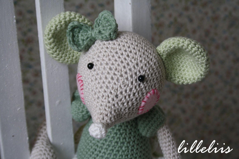Ballerina-mouse - crochet amigurumi toy | Ballerina, Color combos ...