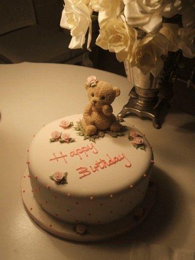 Teddy Bear Birthday Cake Cake Ideas Pinterest Teddy Bear - Bear birthday cake