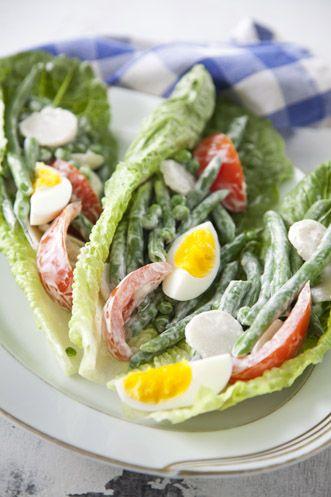 Paula Deen Fresh Green Bean & Tomato Salad