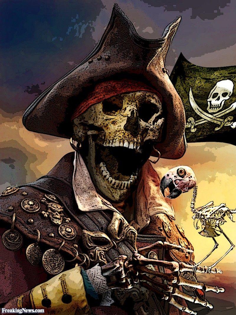 Pirates de la caricature porno des caraïbes