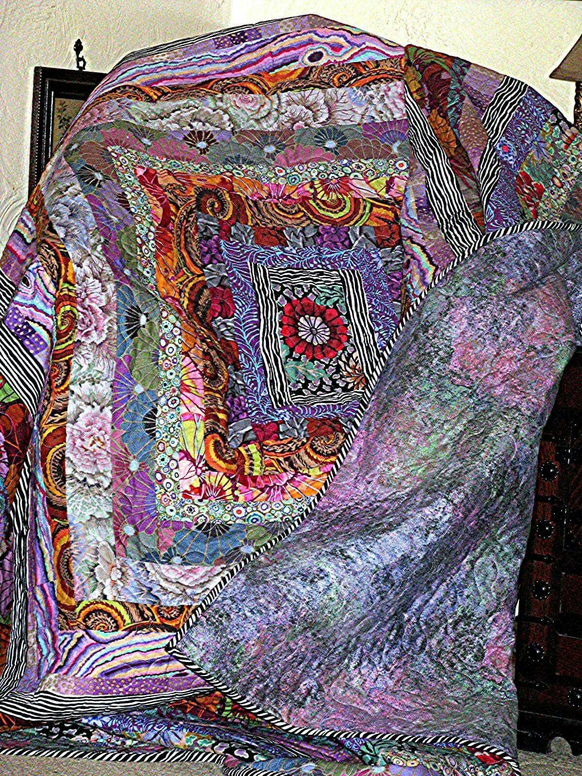 Quilts Of Italy 84 Kit With Images Colorful Quilts Kaffe Fassett Quilts Quilts