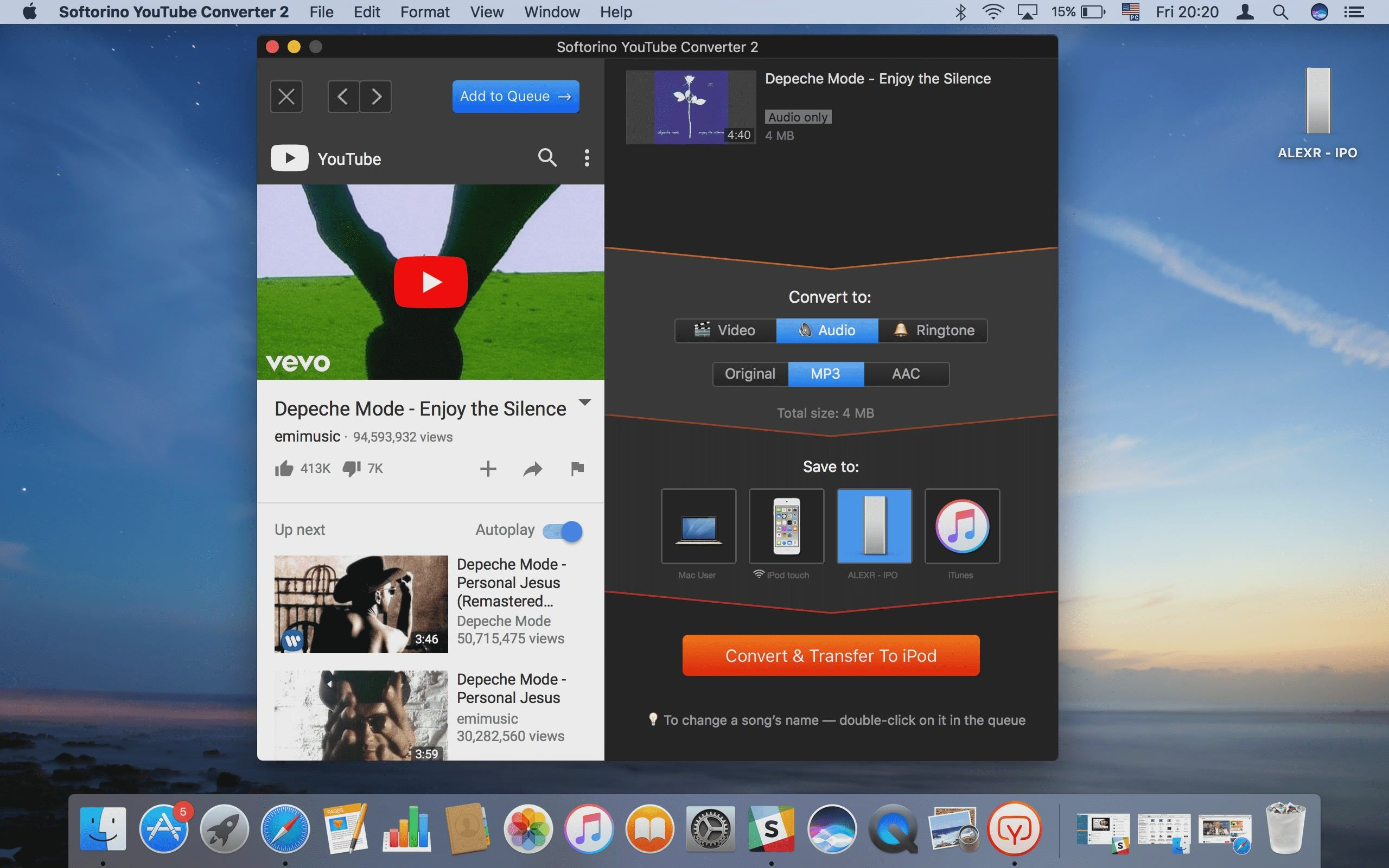 YouTube to iPod Converter - How to Download Music from YouTube to