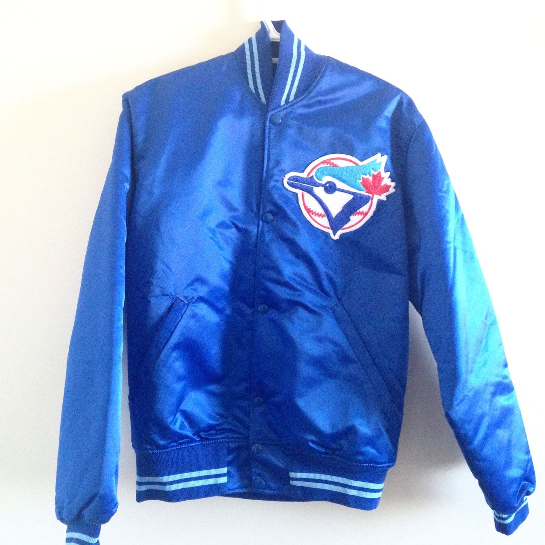 check out b8a33 ac13d Vintage Toronto Blue Jays Starter Jacket by ThingsIBuyForYou on Etsy