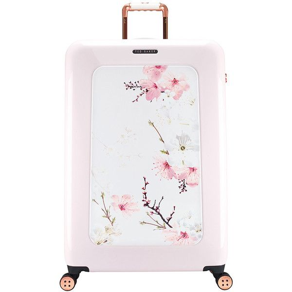 ae7a8395d63c2 Ted Baker Oriental Blossom Suitcase - Large (4.907.450 IDR) ❤ liked on  Polyvore featuring bags