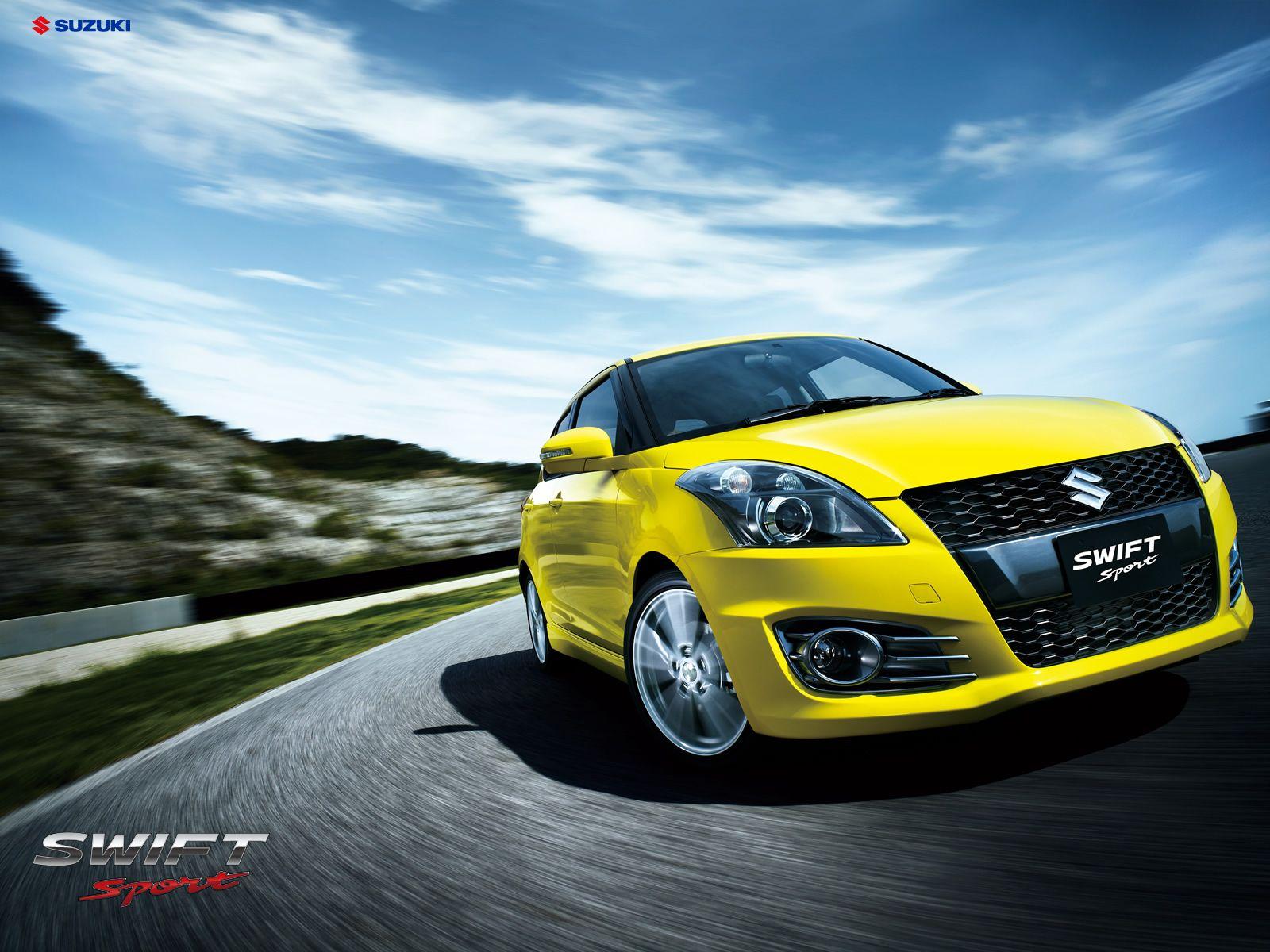 Suzuki Swift Sport Wallpaper Yellow 2 Sports Cars Wallpapers スイフト スズキ 車の壁紙 スズキ