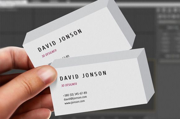 3d business card pinterest 3d business card business cards and check out 3d business card by httpstwitteritembridge on creative market wajeb Gallery