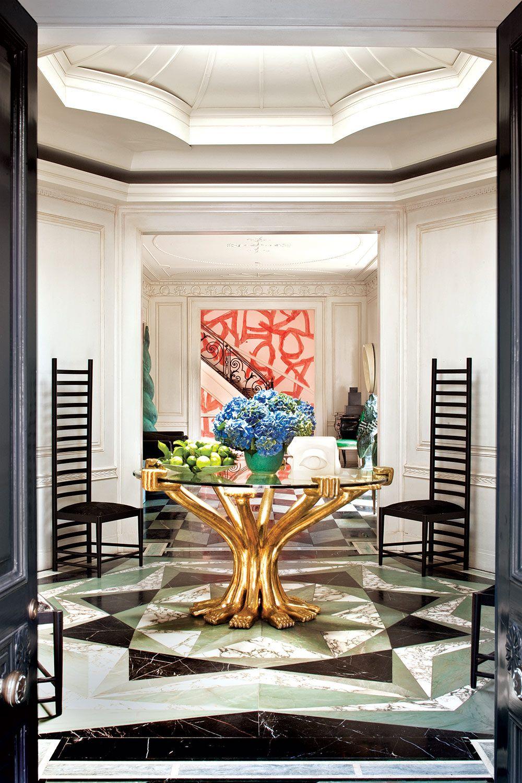 Casa maximalista de kelly wearstler american interior for Uno casa design