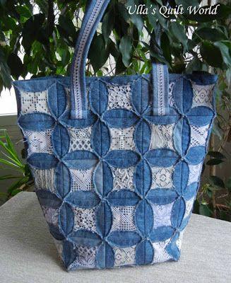Free pattern day ! Denim quilts | Stuff to Sew | Pinterest | Free ... : free denim quilt patterns - Adamdwight.com