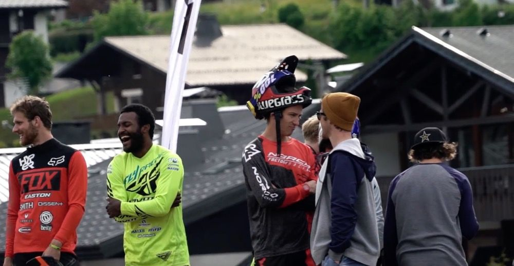Bluegrass Crankworx, Les Gets‬ Inside Team Norco