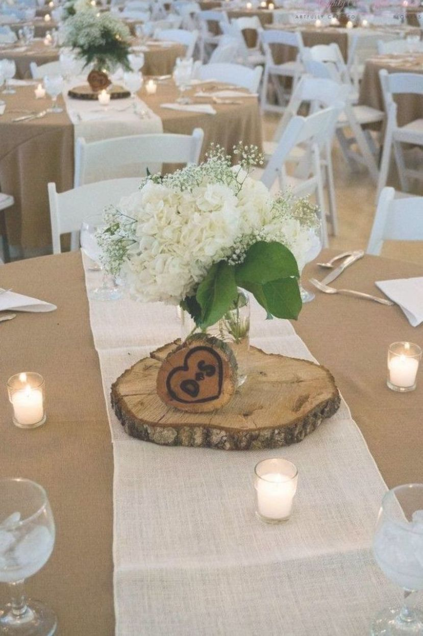 Rustic Wedding Centerpieces Without Flowers Best Of Best 20 Round