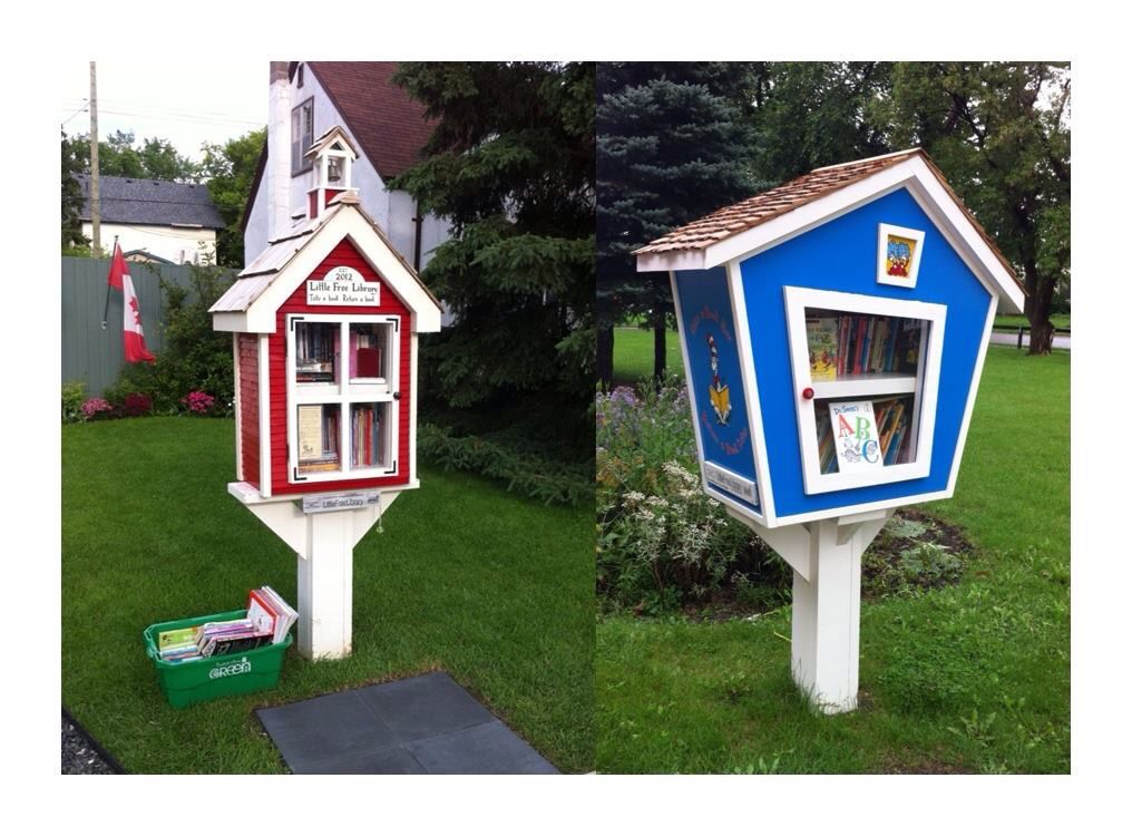 Little free libraries, photo