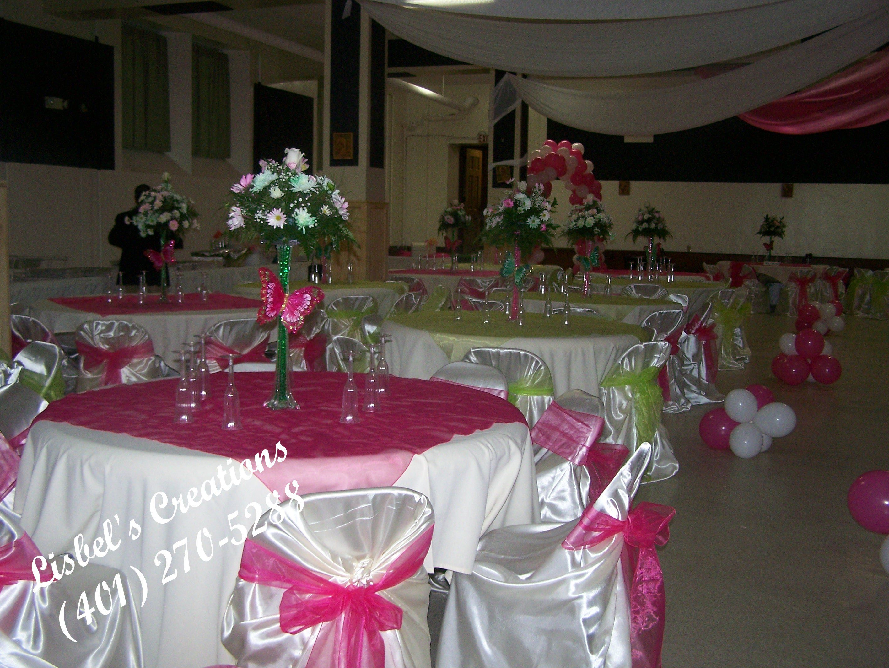 Ideas para una quineanera decoracion de quinceanera for Decoracion de salon xv