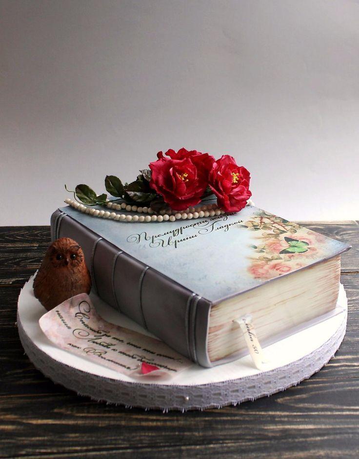 Book cake   Motivtorten, Kuchen mit fondant, Tortendekoration