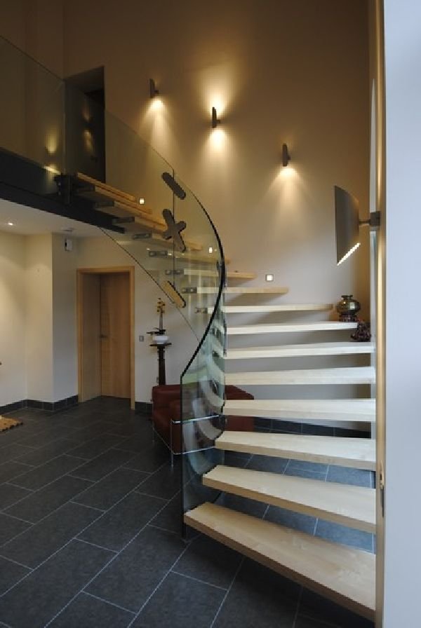 14 Modern Indoor Stairs | Stairways, Staircases and Contemporary