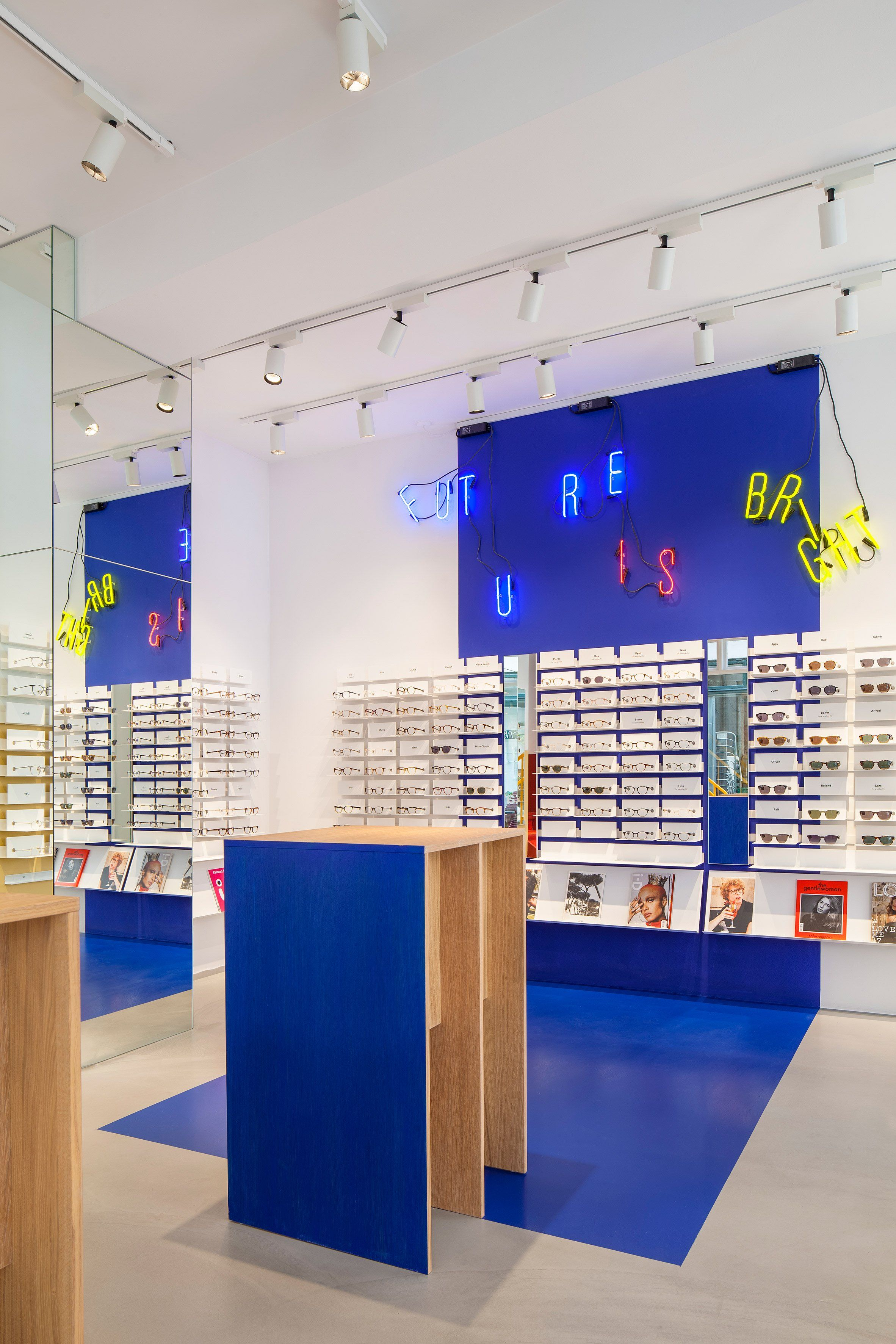 Spacon X Design Ace Tates New Copenhagen Eye Wear Store To Evoke An