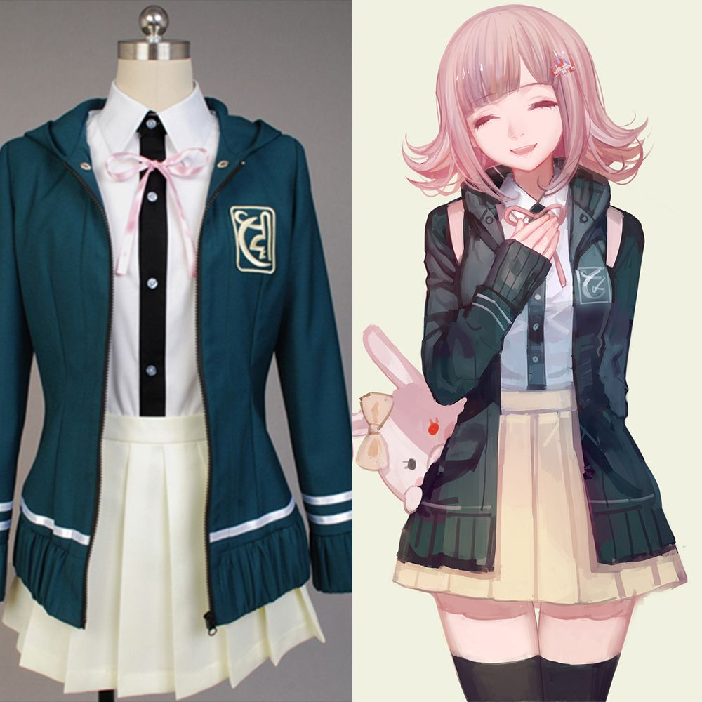 Anime Danganronpa Super Dangan Ronpa Monokuma Skirt Cosplay Costume