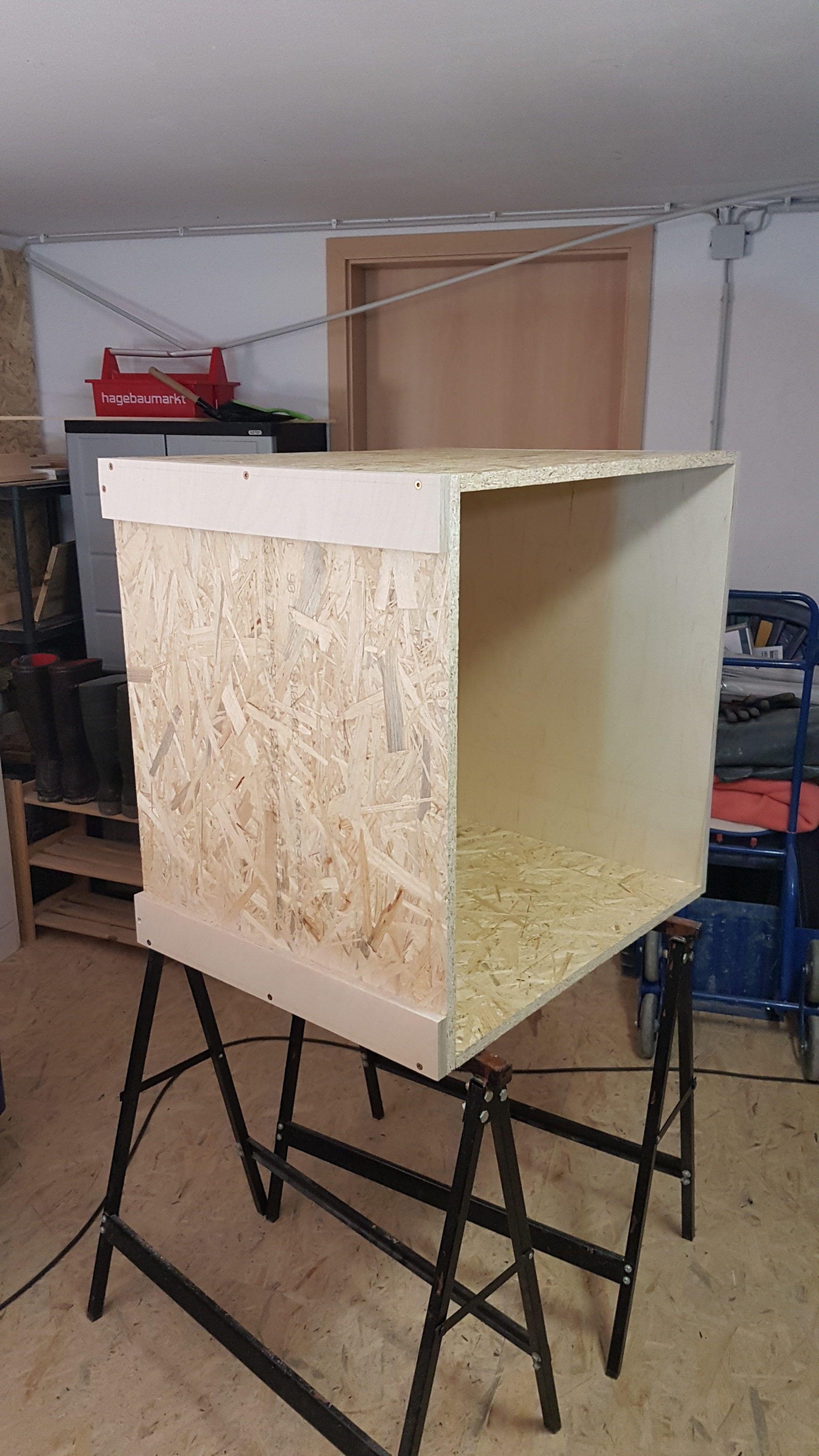 Unsere neue Werkstatt (im DauerAufbau) Heimwerken, Kapp