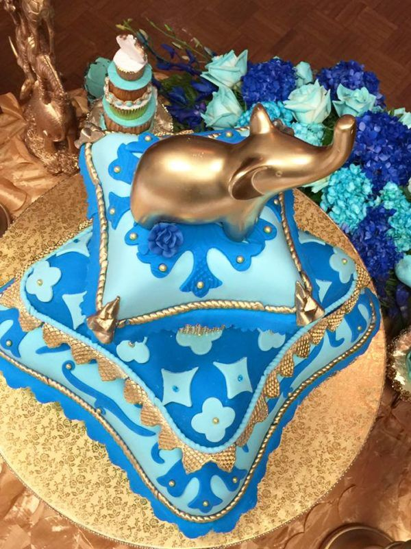 Royal Moroccan Prince Baby Shower Cake Topper