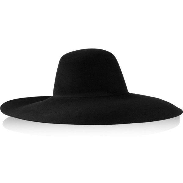 wide-brimmed hat - Black Lanvin gQrOpm