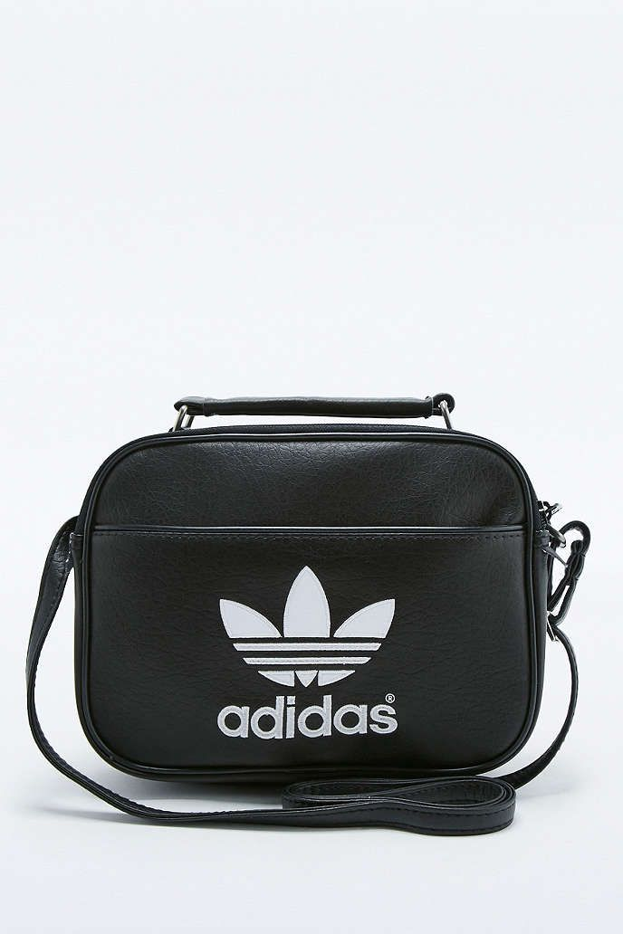 88bd74c6de3b adidas Originals Mini Airliner Black Bag - Urban Outfitters Urban ...