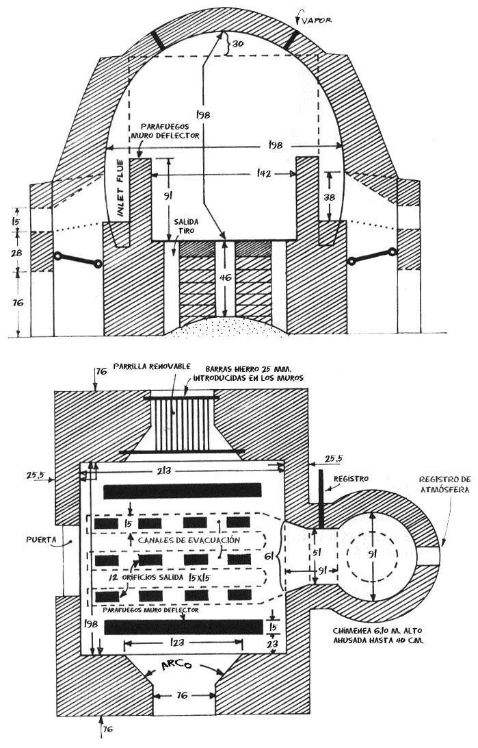 Dise o de hornos planos ceramica pinterest horno planos y cer mica - Disenos de hornos de lena ...