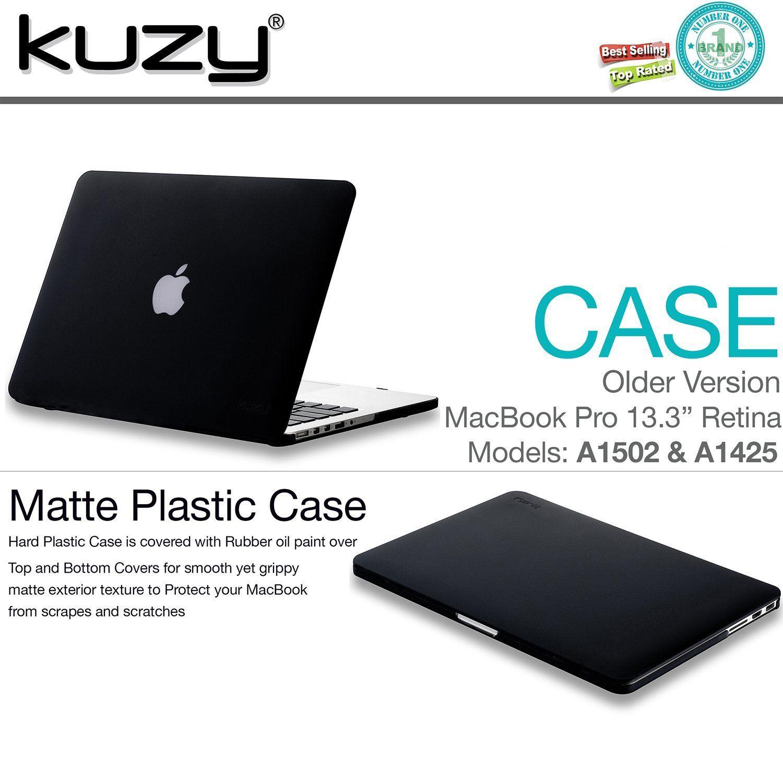 best website ec974 e91fb Amazon.com: Kuzy - Rubberized Hard Case for Older MacBook Pro 13.3 ...