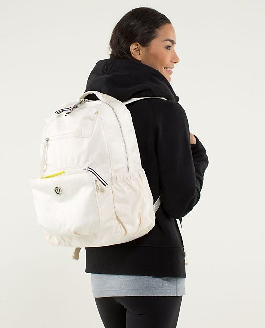 I WANT THIS!!!! Back To Class Backpack #lululemon